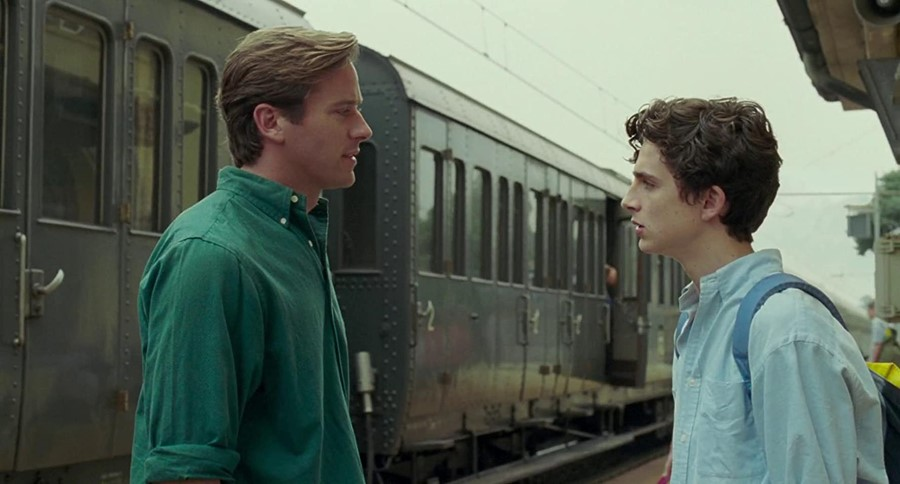 Armie Hammer, Timothée Chalamet, Call Me By Your Name