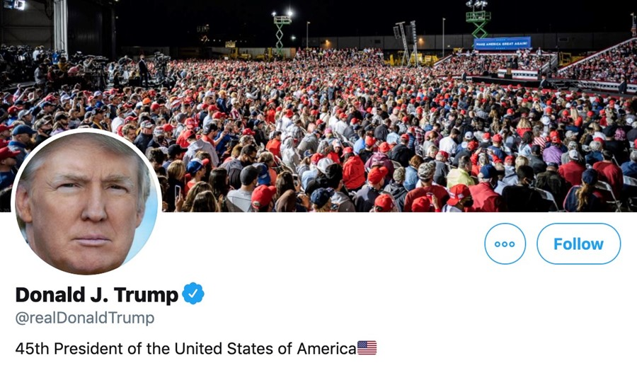Trump S Twitter Hacked By Hacker Who Guessed Password Was Maga2020 Dazed