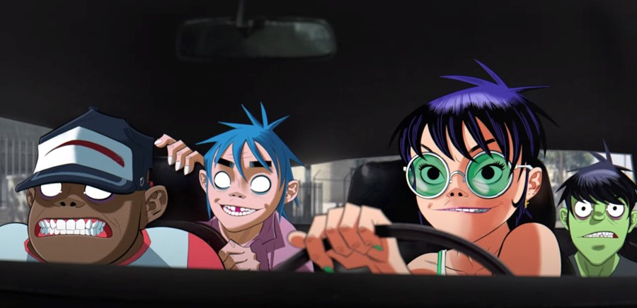 Gorillaz, 'The Valley of the Pagans'