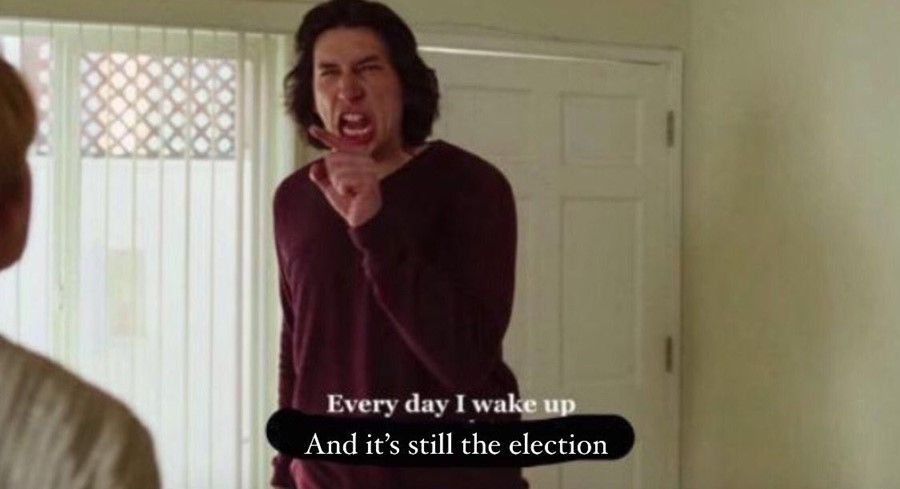 US presidential election memes
