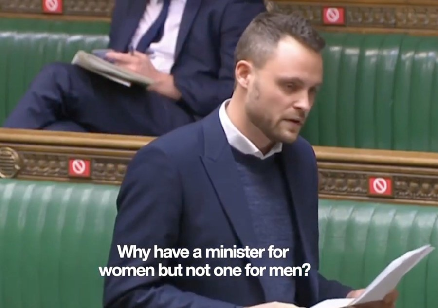 Ben Bradley's International Men's Day speech