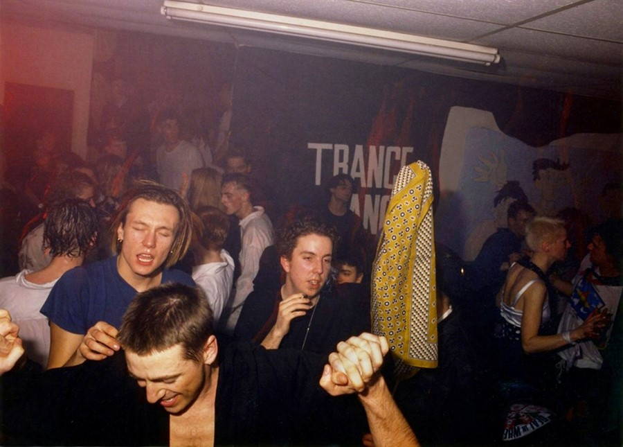 1988 Shoom at FC Cymon Eckel, Spike, Andrew Weatherall