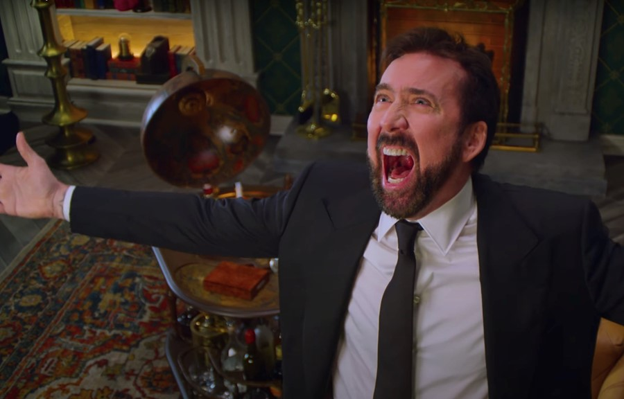Watch a New Trailer for Nicolas Cage's 'History of Swear Words'