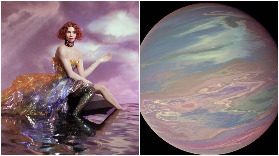 SOPHIE's Oil of Every Pearl's Un-Insides cover / TOI-1338 b