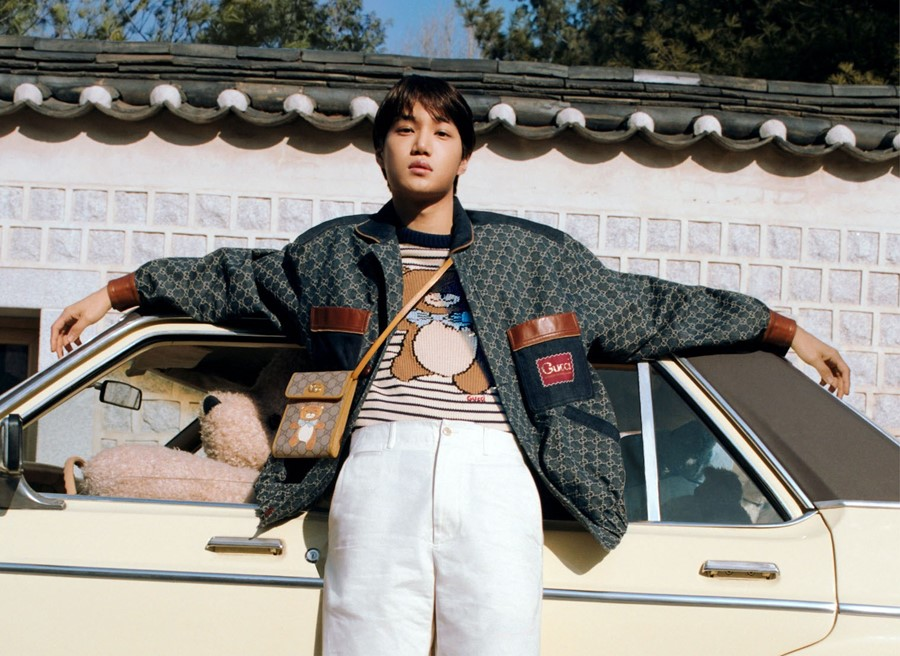 K-pop star KAI releases new Gucci collection