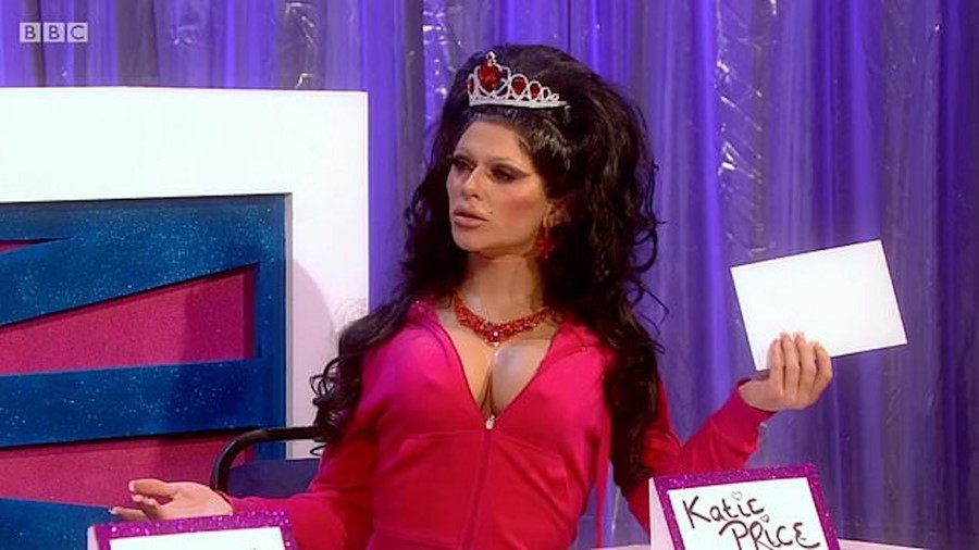 Bimini Bon Boulash as Katie Price, Snatch Game