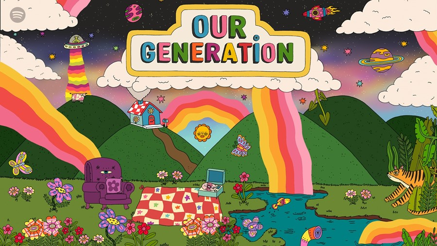 Spotify's Our Generation playlist