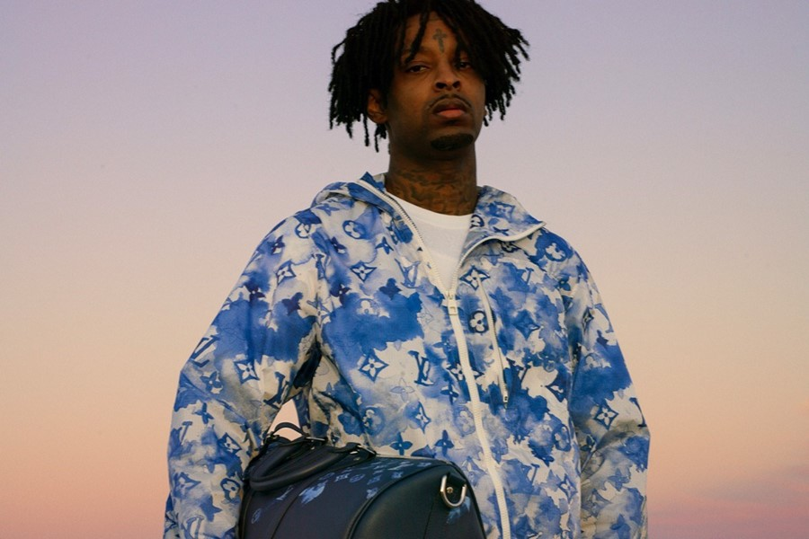 21 Savage Louis Vuitton capsule collection