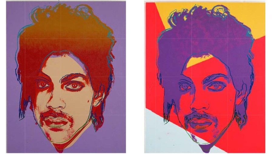 Andy Warhol's Prince Series as reproduced in court documents