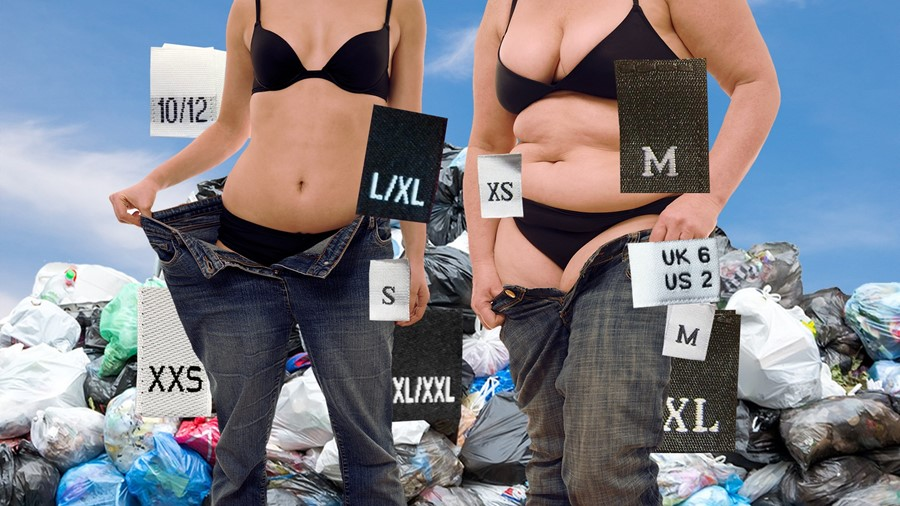 Inconsistent sizing fuelling a clothing waste crisis