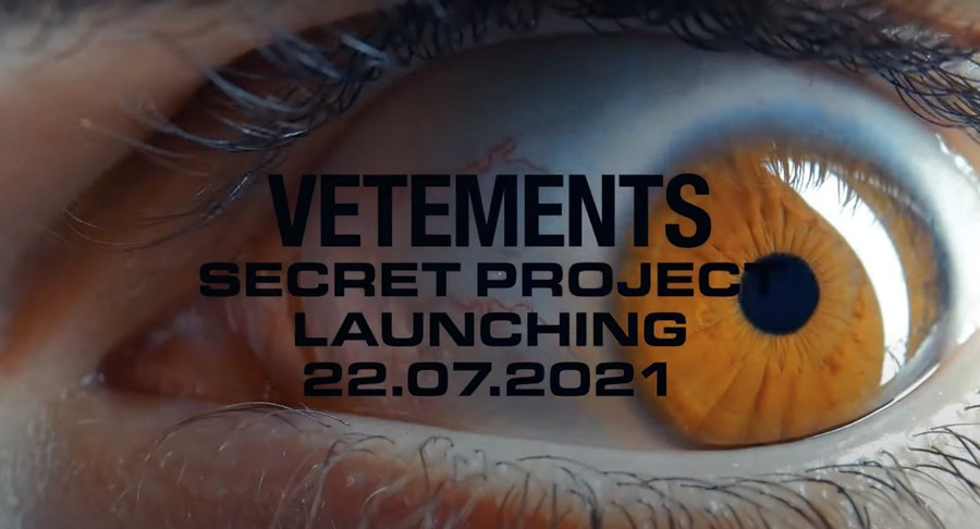 Vetements SS22 special project