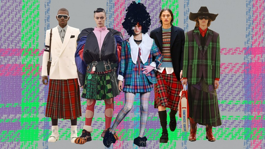Why the kilt is taking over fashion