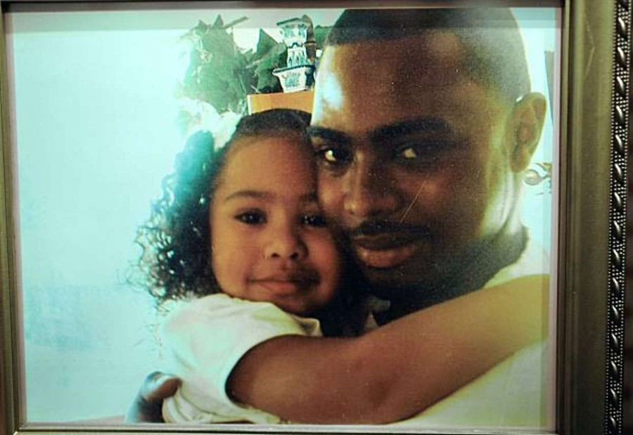 Oscar Grant and daughter