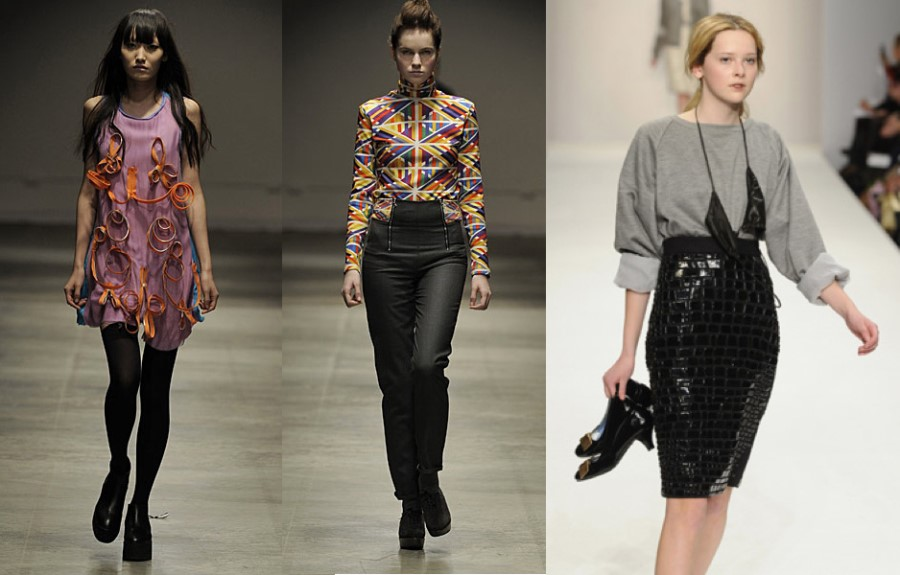 Fashion East S/S 09's new lineup.