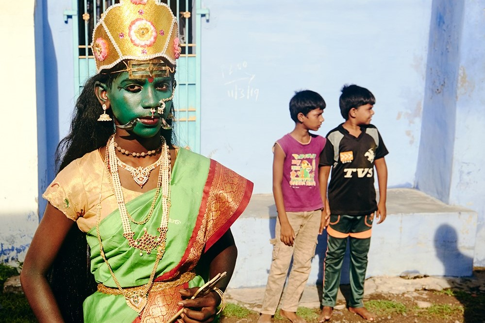 The Indian fashion photographer documenting disappearing Hindu traditions